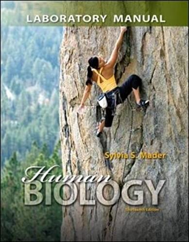 amazon com lab manual for human biology 9780077596026 sylvia rh amazon com Krogh Biology 5th Edition Chapter 9 Images Plant Cell Diagram Sylvia's Mader