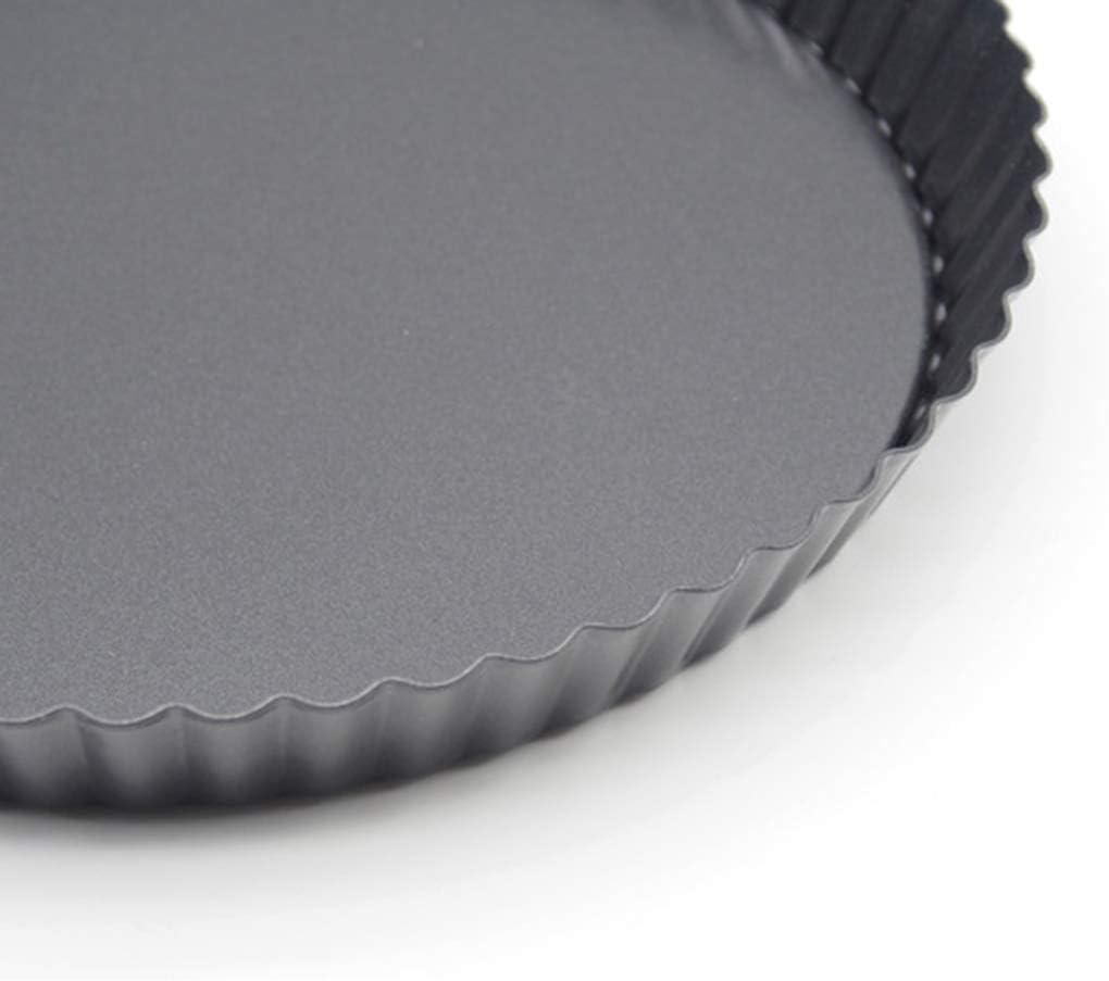 Kimnny Pizza Tray 9 inch Round Pizza Tray Non-Stick Coatin Pizza Pan Plate Mold Baking Tool DIY Baking Mould