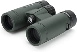 Celestron – TrailSeeker 10x32 Binoculars – Fully Multi-Coated Optics – Binoculars for Adults – Phase and Dielectric Coated BaK-4 Prisms – Waterproof & Fogproof – Rubber Armored – 8.2 Feet Close Focus