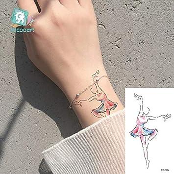 HXMAN 7pcs Pistola De Flores Temporal Tatuaje Rosa Lograna Niña ...