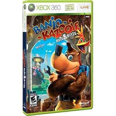 banjo kazooie xbox 360 game