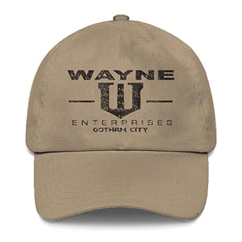 Tcombo Wayne Enterprises Dad Hat (Beige) ()