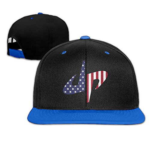 America Dude Perfect Extreme Sport Adjustable Casual Hip-hop Baseball Cap RoyalBlue - Charleston Costume Party