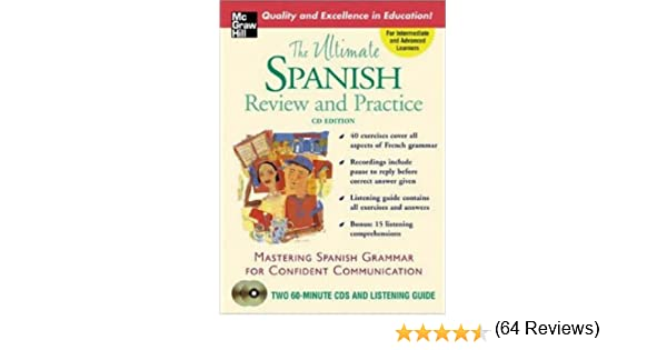 The Ultimate Spanish Review & Practice (Book w/2CDs) (UItimate ...
