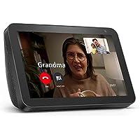 Echo Show 8 (1st Gen, 2019 release) -- HD smart display with Alexa – Unlimited Cloud Photo Storage – Digital Photo…