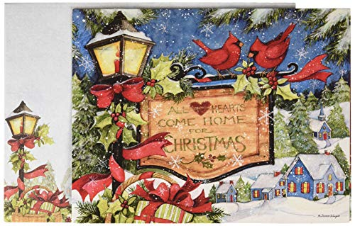 Lang Hearts Come Home Boxed Christmas Cards (1004831)