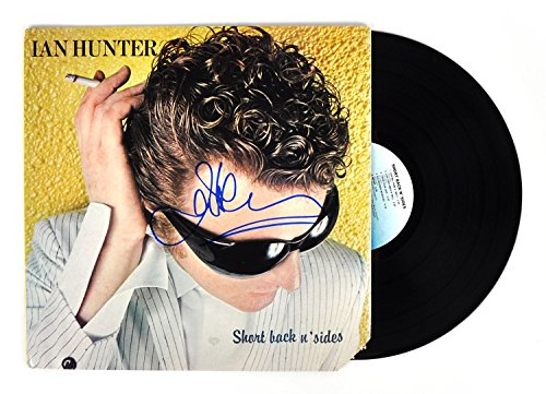 Ian Hunter - English Singer-Songwriter - Autographed