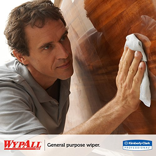 WypAll 05860 L40 Towels, Dry Up Towels, 19 1/2'' x 42'', White (Roll of 200 Towels) by Wypall (Image #7)
