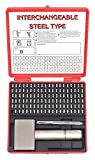Sharp Face Stamp Kit, 3/32in H, Gothic