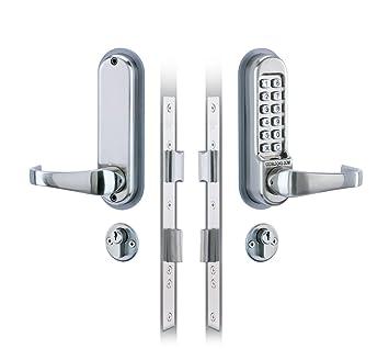 Gemeinsame Codelocks Einsteckschloss, Code-Verriegelung, digital/mechanisch #ES_74
