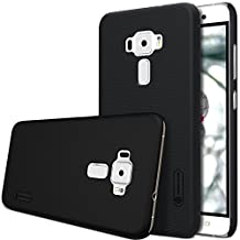 ZenFone 3 ZE520KL Case, Dimike Nillkin Super Frosted Shield Matte Ultra Thin PC Hard Protective Back Case Cover Shell Compatible for ASUS ZenFone 3 ZE520KL (Frosted Black)