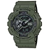 G-Shock GA-110LP - Military Perf Band - Green / One Size