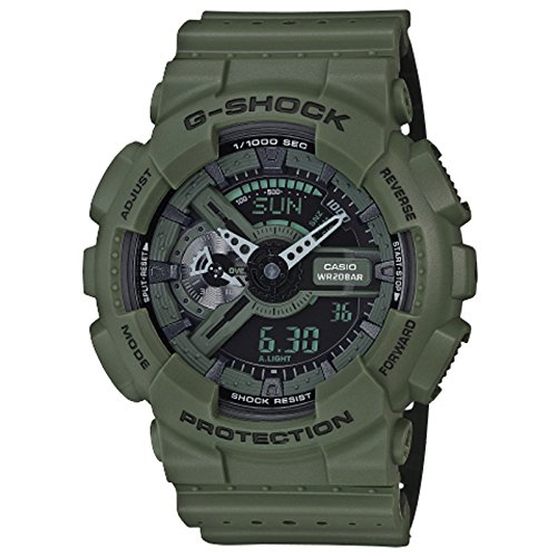 G Shock GA 110LP Military Perf Green