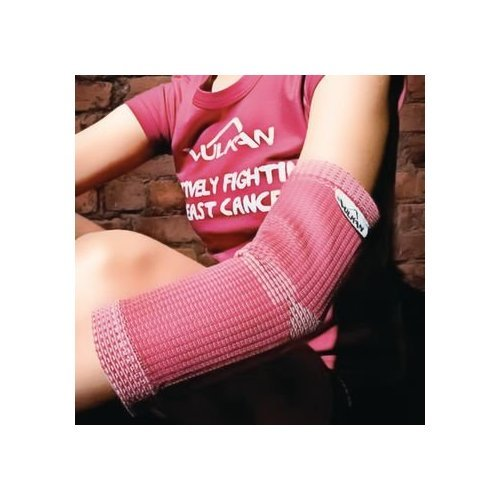 Vulkan Pink Advanced Elastic Elbow Support for Women, Small, Compression Support Sleeve, Used for Muscle Relief, Tendonitis, Tennis Elbow, Golfer's Elbow, Arthritis, Padded Stabilizer ()