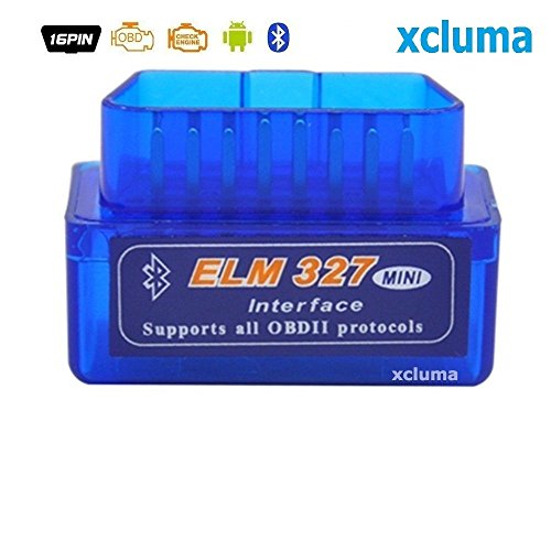 Xcluma Super Mini Elm327 V2.1 Bluetooth Obd2 Obd Ii Car Auto Diagnostic Scanner Android