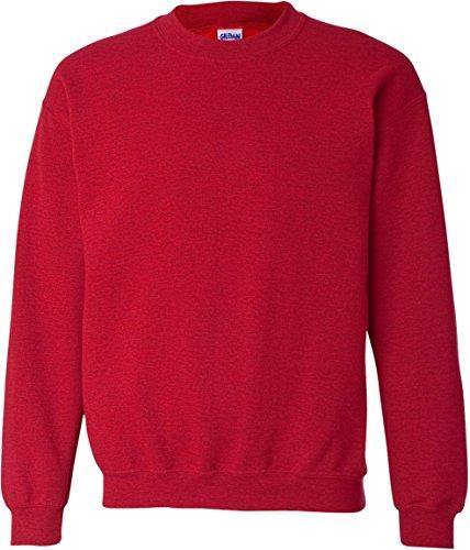 Gildan Antque Cherry Red Sweat Rouge Homme shirt qZgwx1FqH4