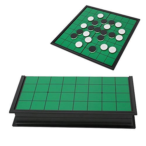リバーシ マグネット 折り畳み オセロ 軽量 磁石 バーシ 簡単収納 携帯便利 25×25cm 定番テーブルゲーム