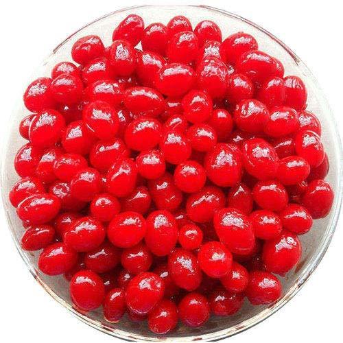 PE Padmavathi Enterprises Candied Karonda Red Cherries -250 Grams