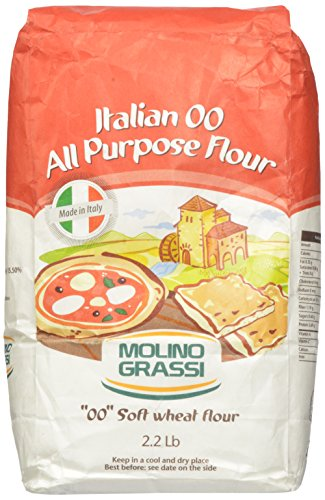 Italian 00 All Purpose Flour by Molino Grassi (2.2 pound)