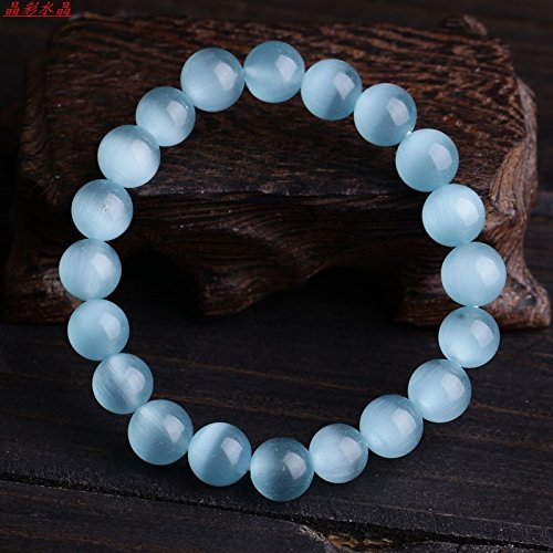 special bracelets women girls blue opal jewelry women girls models natural crystal bracelet fashion simple wild Ms