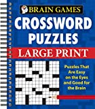img - for Brain Games - Crossword Puzzles - Large Print book / textbook / text book