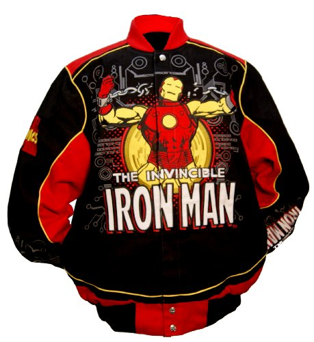 Marvel Comics Infant/Toddler Iron Man Power Suit Youth Jacket