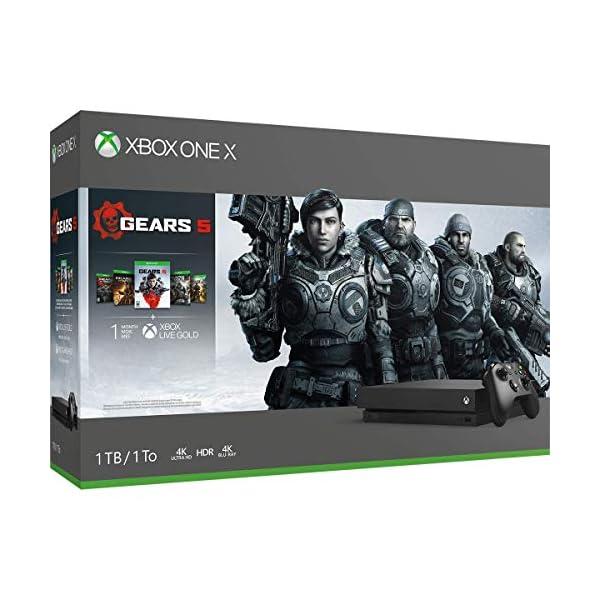 Xbox One X 1TB Console - Gears 5 Bundle 2