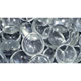 Pen-Plax AG3 90 Bag Gemstones Decorative Aquarium Stones, Clear