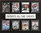 NFL New England Patriots All-Time Greats Plaque