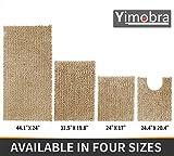 Yimobra Original Luxury Chenille Bath Mat, Soft