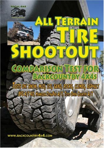 All Terrain Tire Shoutout Comparison Test for Backcountry 4x4s