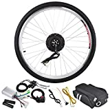 """AW 26""""x1.75"""" Front Wheel Electric Bicycle Motor Kit 36V 250W Pro Light Motor Cycling w/ Dual Mode Controller"""