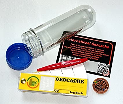 mehrfarbig 11149 GEO-VERSAND 41 Teile Geocaching Beh/älter Paket Set Lock/&lock Verstecke