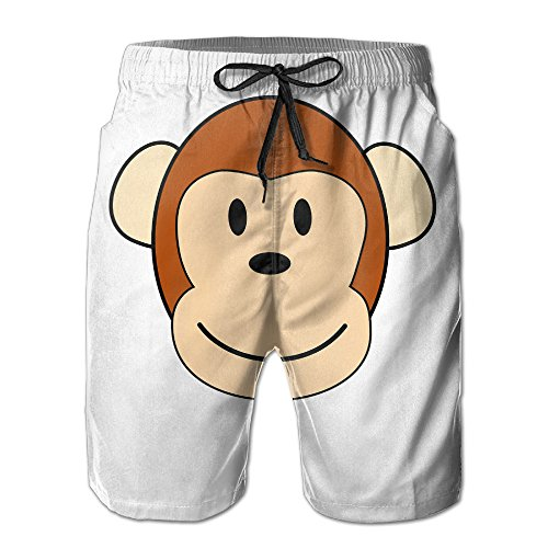 Male Monkey Funny Beach Walk Shorts