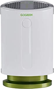 Safeplus True HEPA Air Purifier for Home Bedroom,Air Filter for dust and PM2.5, Indoor Air Cleaner for Office and Kitchen Spaces up to 300 sq.ft (27 m²)