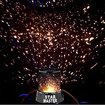 MK Star Master Cosmos LED with Starry Night Projector Bed Light lamp Black Color 1pc Specialty Lighting at amazon