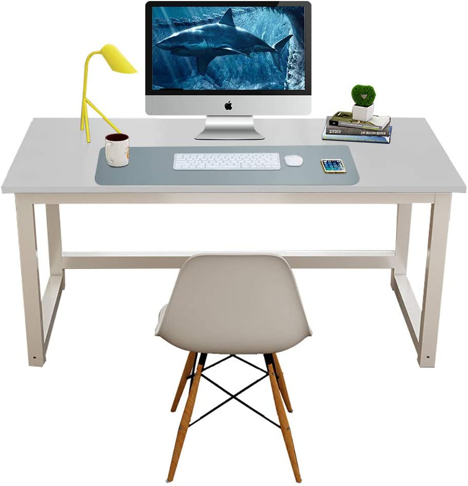 """Super Comfortable Surface Leather Mat,31.5/""""x15.7/"""" Perfect Size Leather Desk Blotter Laptop Desk Mat Getfitsoo Leather Desk Pad Waterproof Desk Writing Pad at Office and Home Light Blue"""