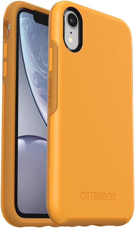 OtterBox SYMMETRY SERIES Case for iPhone Xr - Retail Packaging - ASPEN GLEAM (CITRUS/SUNFLOWER)