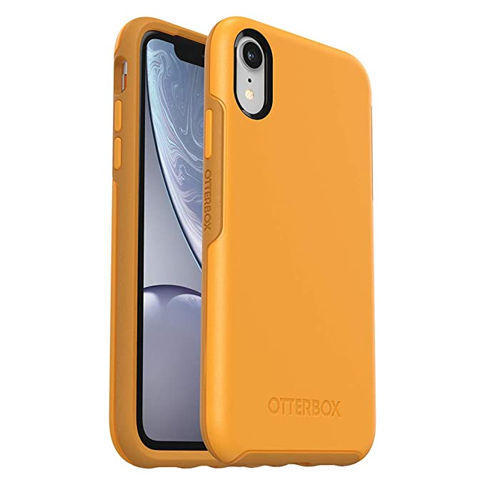 official photos 238f4 7d9d6 OtterBox SYMMETRY SERIES Case for iPhone XR - Retail Packaging - ASPEN  GLEAM (CITRUS/SUNFLOWER)