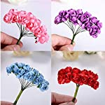 Small-Basketball-144PCS-Artificial-Paper-Rose-Flower-Buds-Mini-Bouquet-Party-Wedding-DecorationRed
