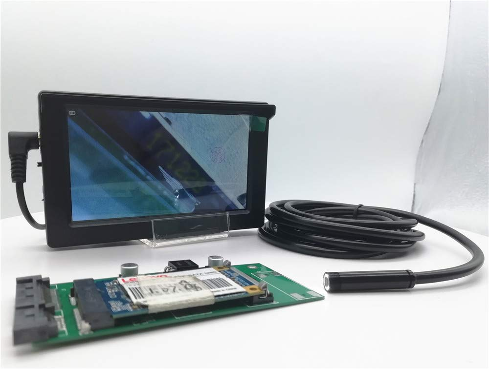 New Landing 4.3 Inch TFT Monitor 7MM USB Endoscope Camera Build-in Battery by New Landing