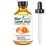 BioFinest Grapefruit Oil - 100% Pure Grapefruit Essential Oil - Weight Loss, Reduce Sugar Craving - Premium Quality - Therapeutic Grade - Best For Aromatherapy - FREE E-Book and Dropper (100ml)