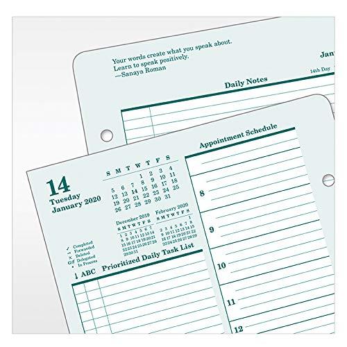 Amazon.com: Planificador diario clásico original con anillas ...