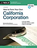img - for How to Form Your Own California Corporation book / textbook / text book