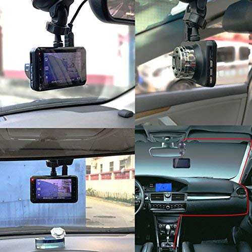 Car Dash Camera Dashboard 3.0 Inch HD Screen FULL 1080P 170 Degree Super Wide Angle Cameras Recorder Support G-Sensor Motion Detection Parking Mode Super Night Vision eaglecam Dash Cam
