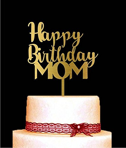 amazon com happy birthday mom cake topper mother s day cake topper