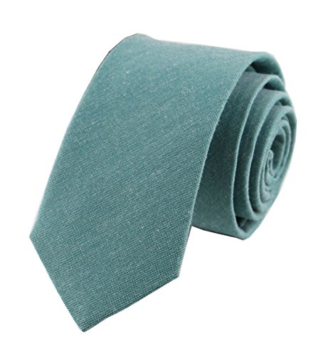 Suit Cotton Brioni - Men Big Boy Turquoise Tie Spring Wedding Teal Blue Cotton Linen Necktie for Son