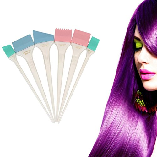 silicone hair color brushes - 6