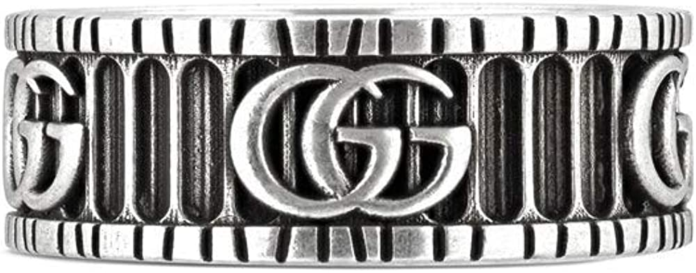 Gucci Marmont Ring with Double G Silver