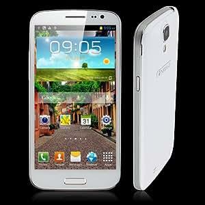 *Promoción* 5.0 Pulgada iNew M2 Smartphone Android 4.2 3G 1.2GHz Quad Core 1GB 4GB Doble Cámaras Blanco